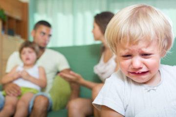 как подать на развод если есть несовершеннолетний ребенок