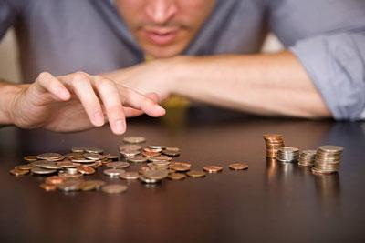 При недостаточности средств в связи с ухудшением материального положения